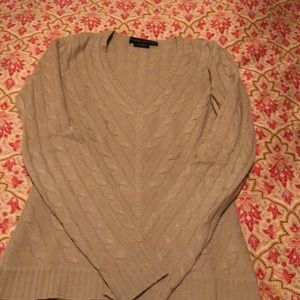 Ralph Lauren cable cashmere sweater